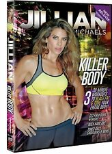 Cardio and Toning DVD - JILLIAN MICHAELS Killer Body - 3 Workouts!