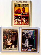 Shaquille O'Neal (3) Rookie Card Lot. Orlando Magic.  Fleer/Classic/Oddball