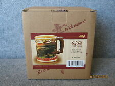 New Wild Wings Terry Redlin Best Friends Sculpted Mug Cup Lot of 2 QTY