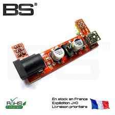 Module alimentation breadboard 3.3V 5.0V breadboard dual supply Arduino USB 5521