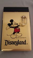 New listing Vintage Walt Disney Productions Mickey Mouse Desk Memo Pad Disneyland