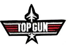 TOPGUN TOP GUN MOVIE USN F-14 TOMCAT MOVIE BADGE