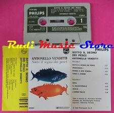 MC ANTONELLO VENDITTI SOTTO IL SEGNO DEI PESCI 1973 PHILIPS ITALY no cd lp dvd**