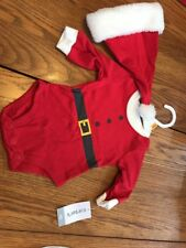CARTER'S Christmas SLEEPER With Hat Size Newborn Ships N 24h
