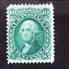 US 68 10c Washington Mint VF OG H SCV $950