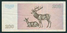 Litauen / Lithuania 200 Talonu 1993 Pick 45 (2)