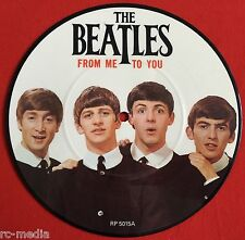 "BEATLES - From Me To You/Thank You Girl - Rare UK 7"" Picture Disc (Vinyl Record)"