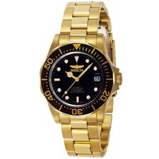 Invicta Men's Pro Diver Automatic 200m Gold Plated Stainless Steel Watch 8929