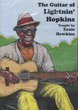 La CHITARRA di Lightnin' Hopkins Texas Blues universitarie DVD impara a giocare