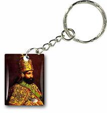 Keychain key ring keyring car rasta flag haile selassie rastafarai lion of judah