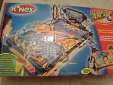 K'NEX Electronic Arcade Pinball Machine & Speedball