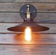 Loft 26cm Black Metal Shade Industrial Ceiling Vintage Retro Pendant Wall Light 1 Light(without Bulb)