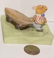 Vintage 1988 Mouse Figurine The Foxwood Tales Regatta Miniature Brian Paterson