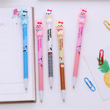 4pcs Cute Rabbit Automatic Mechanical Pencils 0.7mm Lead Stationery 2018