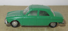 G old made in france 1966 micro norev oh 1/87 peugeot 204 dark green #532