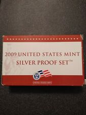 2009 United States Mint Silver Proof Set w/ Box and COA