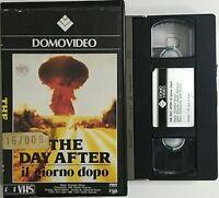 The day after - Il giorno dopo [VHS Versione Noleggio]
