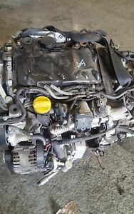 Renault traffic/primastar/vivaro 2.0 dci engine m9r 780/782 only covered 65k