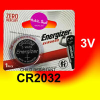 4 x Energizer CR2032 Aukie_Syd Child-Resistant Packing 3V Battery Batteries