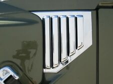 2003 Hummer H2 Chrome Side Vent Covers w/o antenna