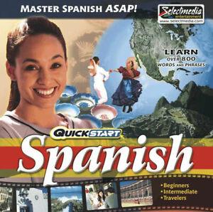 QuickStart Spanish AUDIO 2 CDs  Learn Spanish Quickly  Brand New Sealed