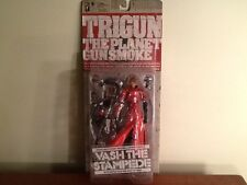 "Trigun The Planet Gunsmoke ""Vash The Stampede"" Action Figure New & Unopened"
