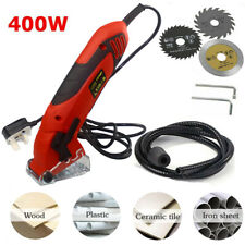 Pro Mini Circular Saw Electric Metal Plastic Wood Cutting Multifunction DIY Tool