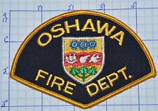 CANADA, OSHAWA FIRE DEPT GOLD EDGE PATCH