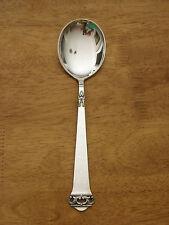 NORWAY Sterling Silver MYLIUS BRODRENE Large Serving / Berry Spoon SAGA XC 221