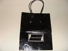 Corporate Level Carson's Department Store small black paper Shopping Bag / Tote