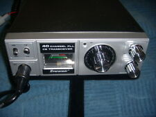 Vintage Eversonic 40 Ch Model 407 Cb Transceiver Refurbished W/ Mic