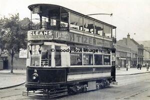 a0137 - Birmingham Tram no 8 - print