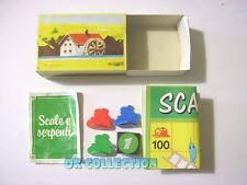 MULINO BIANCO scatolina anni '80_ SCALE E SERPENTI (sorpresina 09).