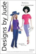 """Basics Pattern for 22"""" American Models Dolls Tonner"""