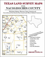 Nacogdoches County Texas Land Survey Maps Genealogy TX