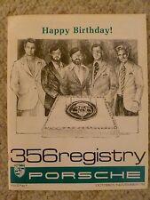 1979 Porsche 356 Registry Magazine, Vol#5 No.1, Oct / Nov 1978 Early & VERY RARE