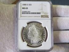 1880 S Morgan Silver Dollar - NGC MS 65 – Nice!