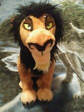 VGUC! The Lion King Scar plush soft toy from the Disney Store 14'' 2017 version