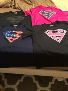 Under armour alter ego superman Lot of 9 will separate