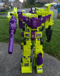 Transformers Combiner Wars Devastator Complete Set w/box, & instructions Hasbro