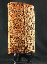 SUMERIAN CIVIL LAW TABLET cuneiform 1860 BC Earliest Legal Code museum replica