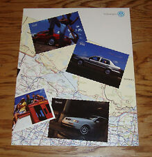 Original 1995 Volkswagen VW Full Line Sales Brochure 95 Jetta Cabrio Golf