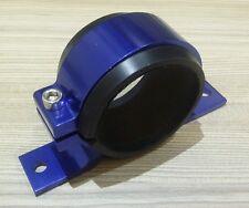 Fuel pump bracket mount suits 60mm (bosch 044 pumps) Single, billet alloy BLUE
