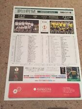 Germany Away Teams F-K Football Programmes