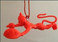 Flying Lord Hanuman Hanging Idol For Car Orange Hindu God for Power & Protection