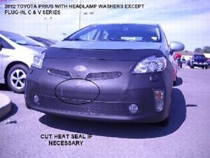 Lebra Front End Mask Cover Bra Fits 2012-2015 TOYOTA PRIUS & Plug-In W/ Washer