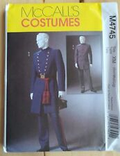 McCall 's Adult Male Costume/Fancy Dress Sewing Patterns