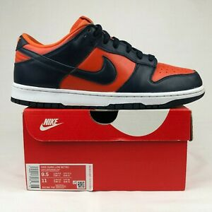 Nike Dunk Low SP Champ Colors University Orange Marine (2020) Size: 9.5