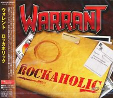 WARRANT - Rockaholic +1 / Japan OBI New CD 2011 / Melodious Hard Rock / U.S.