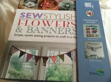 Craft Corner Sew Flowers Banners 2012 Mixed Media Fabric Felt Chalk Pins Spring